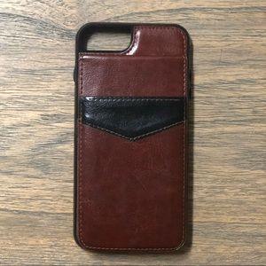 Accessories - iPhone 7 Plus or 8 Plus Phone Case Wallet